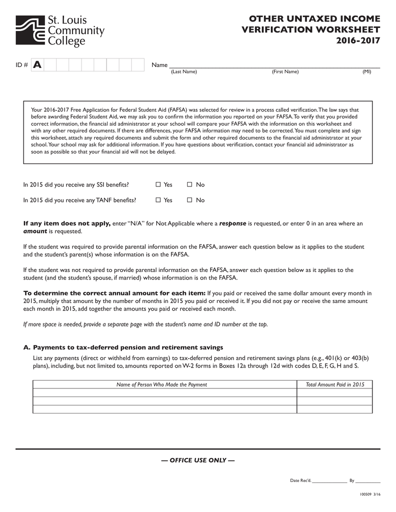 Clergy housing allowance worksheet 2016