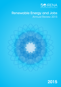 2015 Renewable Energy and Jobs Annual Review 2015