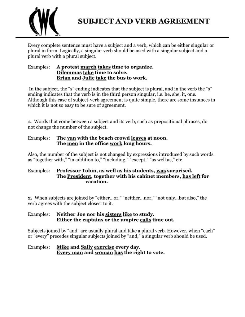 Subject and verb agreement 0116495081 b8989f00248c079638735cfa9d705911g ibookread PDF