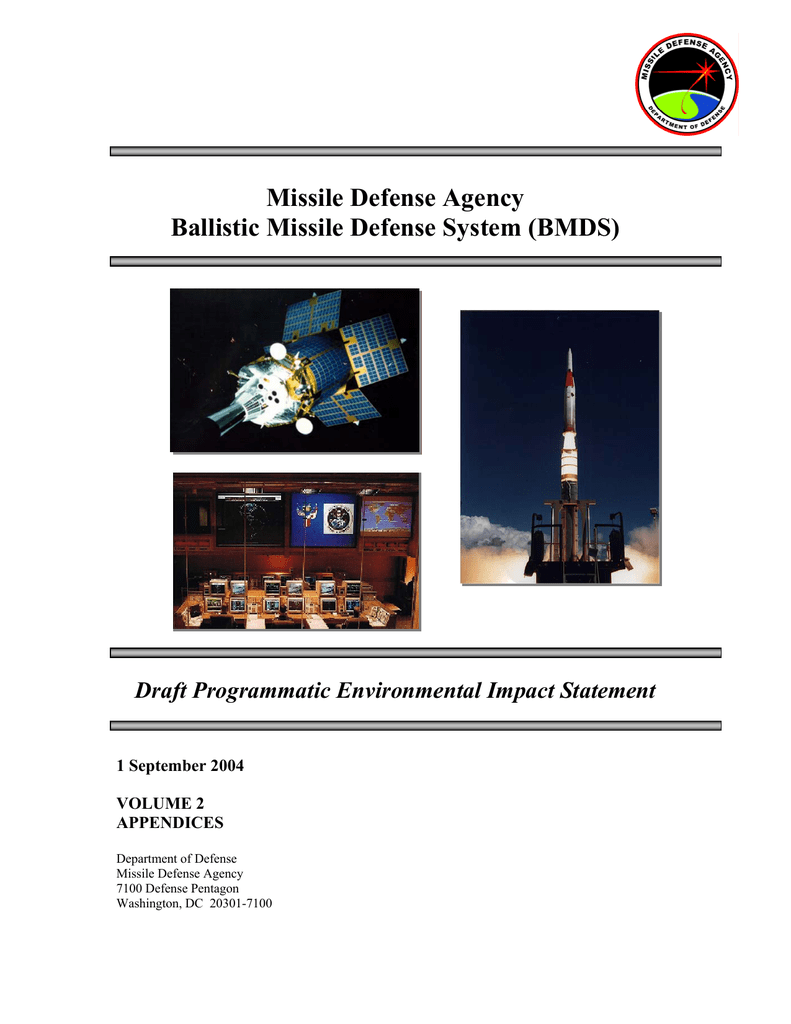 Missile Defense Agency Ballistic System Bmds Fm 5424 Theater Of Operations Electrical Systems Conduit Wiring