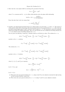 Physics 212: Problem Set 12