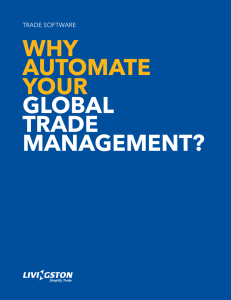 Why AutomAte your GlobAl