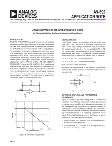AN-692 APPLICATION NOTE
