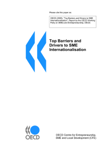 "Please cite this paper as: ""Top Barriers and Drivers to SME"