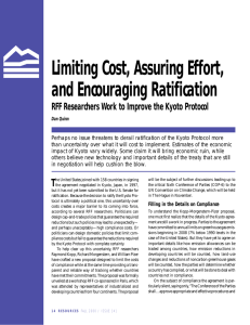 Limiting Cost, Assuring Effort, and Encouraging Ratification