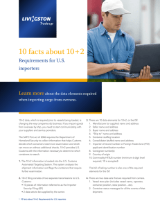 10 facts about 10+2 Learn more  Requirements for U.S.
