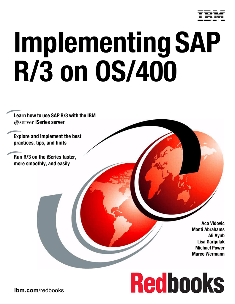 Implementing SAP R/3 on OS/400 ~