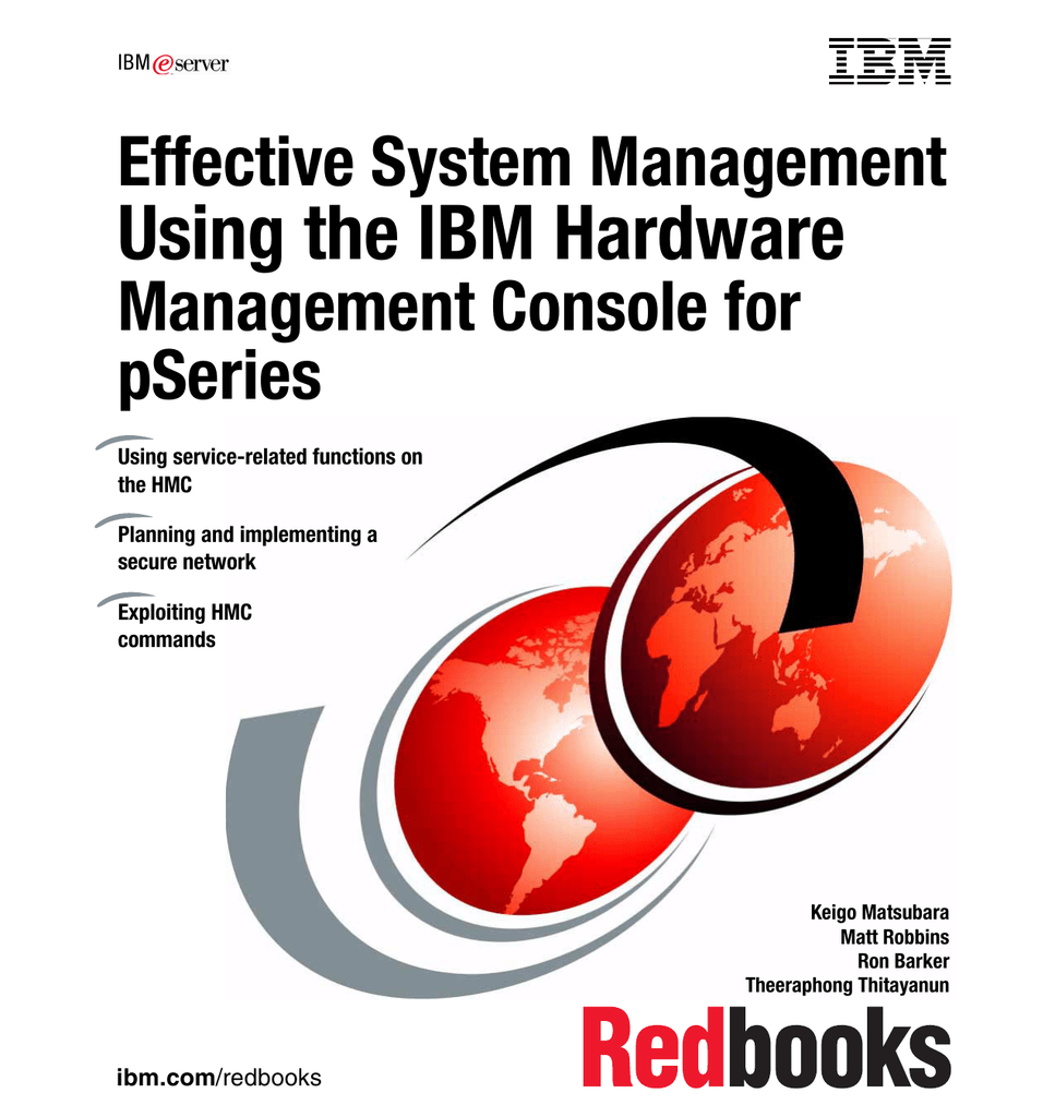 Using the IBM Hardware Effective System Management