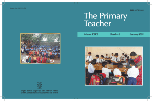 The Primary Teacher Volume XXXX January 2015