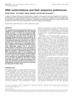 3690–3706 Nucleic Acids Research, 2008, Vol. 36, No. 11 doi:10.1093/nar/gkn260