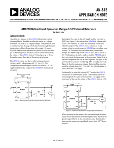 AN-815 APPLICATION NOTE