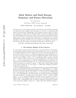 Dark Matter and Dark Energy: Summary and Future Directions