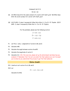 Homework Set 12 A PH 111 – 03 A