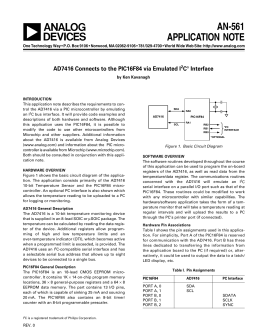 a AN-561 APPLICATION NOTE