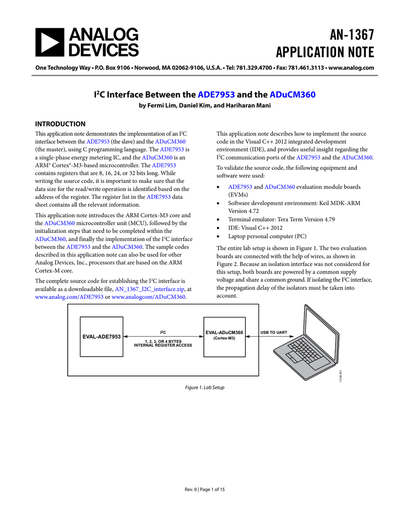 AN-1367 APPLICATION NOTE
