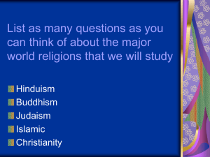 List as many questions as you Hinduism
