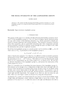 THE SIGMA INVARIANTS OF THE LAMPLIGHTER GROUPS