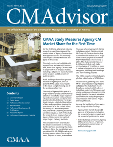 CMAdvisor CMAA Study Measures Agency CM Market Share for the First Time