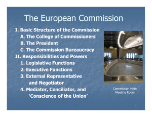The European Commission pp