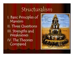 basic principles of marxism