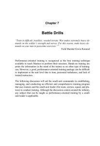 Battle Drills Chapter 7
