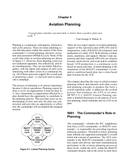 Aviation Planning Chapter 5