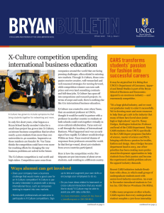 BRYAN X-Culture competition upending international business education