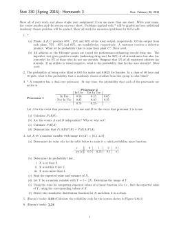 Stat 330 (Spring 2015): Homework 3