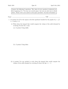 Math 1210 Quiz 10 April 11th, 2014