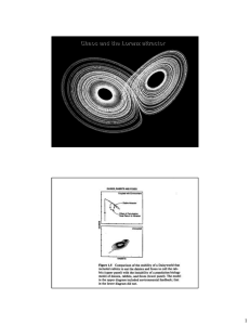 Chaos and the Lorenz attractor