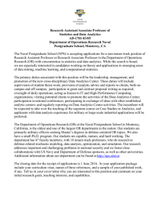 Research Assistant/Associate Professor of Statistics and Data Analytics AD-1701-03/05