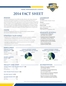 2014 FACT SHEET MISSION LEADERSHIP President