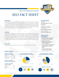 2013 FACT SHEET mission leadership