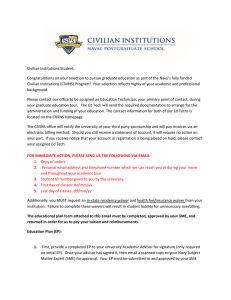 Civilian Institutions Student,