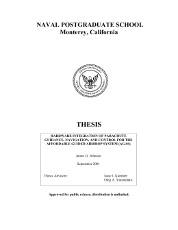 naval postgraduate school monterey california thesis