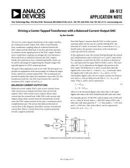 AN-912 APPLICATION NOTE