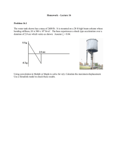 Homework – Lecture 16 Problem 16.1