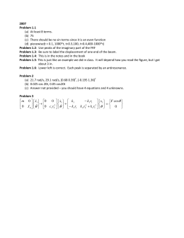 2007 Problem 1.1 At least 8 terms. (a)