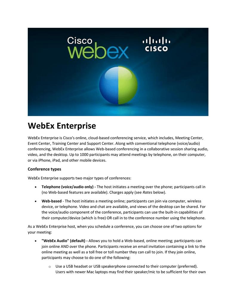 WebEx Enterprise