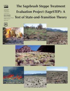 The Sagebrush Steppe Treatment Evaluation Project (SageSTEP): A Test of State-and-Transition Theory