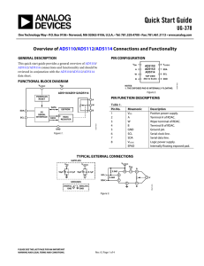 Quick Start Guide UG-378