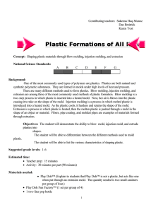Plastic Formations of All Kinds