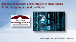 Effective Techniques and Strategies to Share Media
