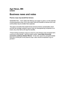 Business news and notes Agri News, MN