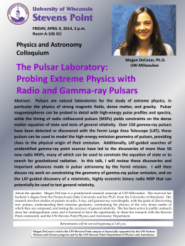 The Pulsar Laboratory: Probing Extreme Physics with Radio and Gamma-ray Pulsars