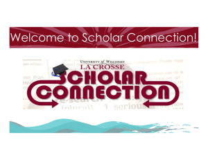 Welcome to Scholar Connection!
