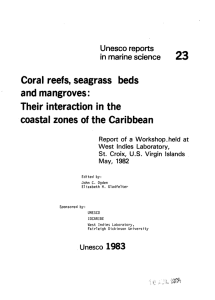 Coral reefs, seagrass beds and mangroves: Their interaction in the