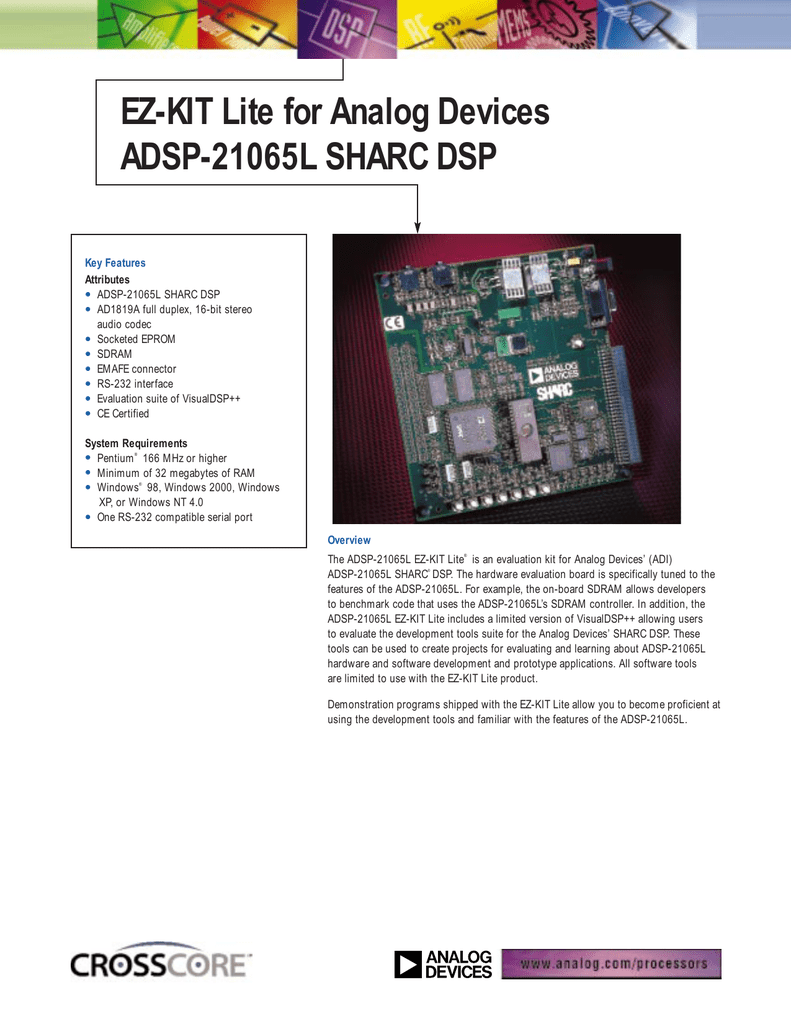 Analog Devices 16-Bit Audio Drivers (2019)