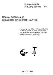 Coastal  systems  and sustainable  development  in Africa