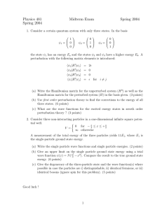 Physics 481 Midterm Exam Spring 2004